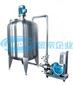 One Stage and 3 Stages Inline Homogenizer Pump for Pharmaceuticals