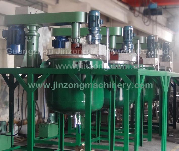 China Paint Mixer Making Machine Equipment