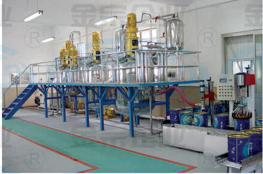 China Car Paint Clear Varnish Lacquer Plant