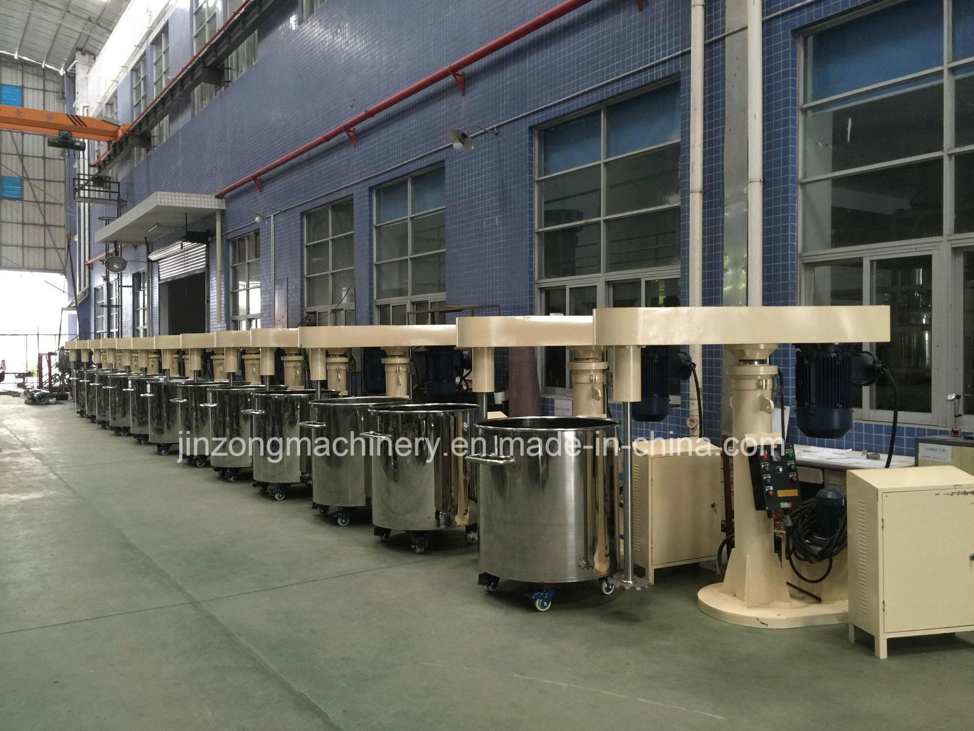 7.5kw High Speed Paint Disperser Mixer Making Equipment (floor type)