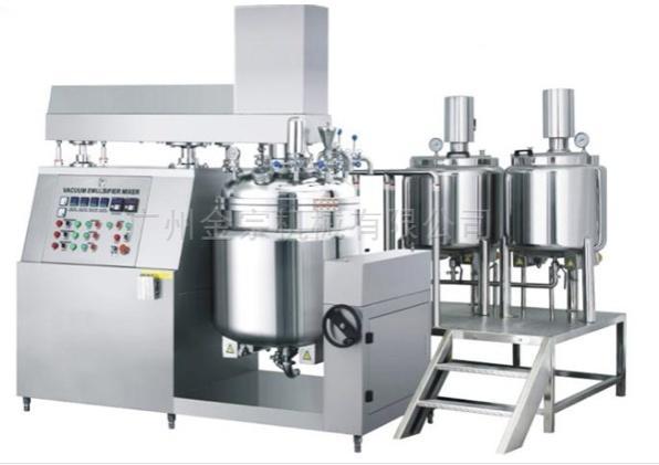 50L Pharmaceutical Ointment Making Machine Vacuum Homogenization Mixer