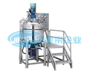 Vacuum Mixer with Homogenizer Mixing Tank Hand Gel Ointment Making Machine