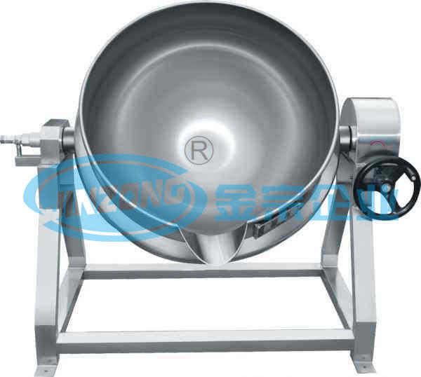 Starch Paste Kettle Cooking Pot Open Heating and Mixing Machine