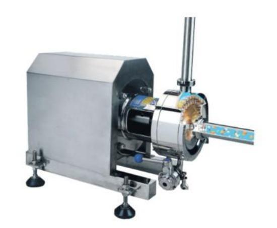 High Shear Emulsifying Homogenizer Cream Mixing Paste Mayonnaise Manufacturing Machine