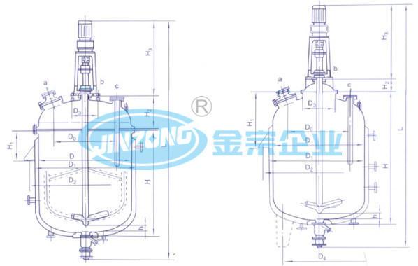 Manufacturer of Pharmaceutical Glass Lined Reactor Enamel Reaction Tank