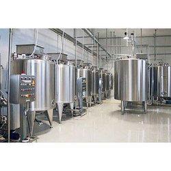 Soft Drink Making Plant Beverage Processing Mixing Machine Storage Tank