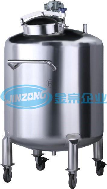 Customized Pressure Vessel with Agitator Homogenizing Liquid Mixing Vessel