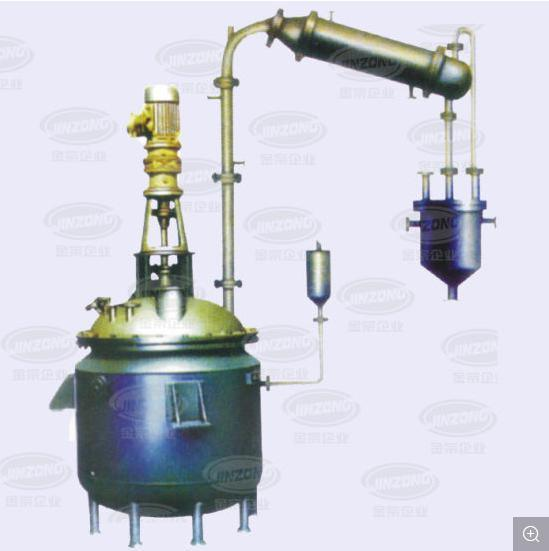 Insulation Heating Cooling Fermentor Crystallizer Mixing Vessels Reflux Reactor