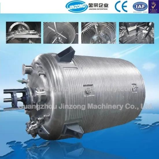 Stainless Steel Chemical Reaction Vessels Reaction Kettle with Mixing Reactor Tank