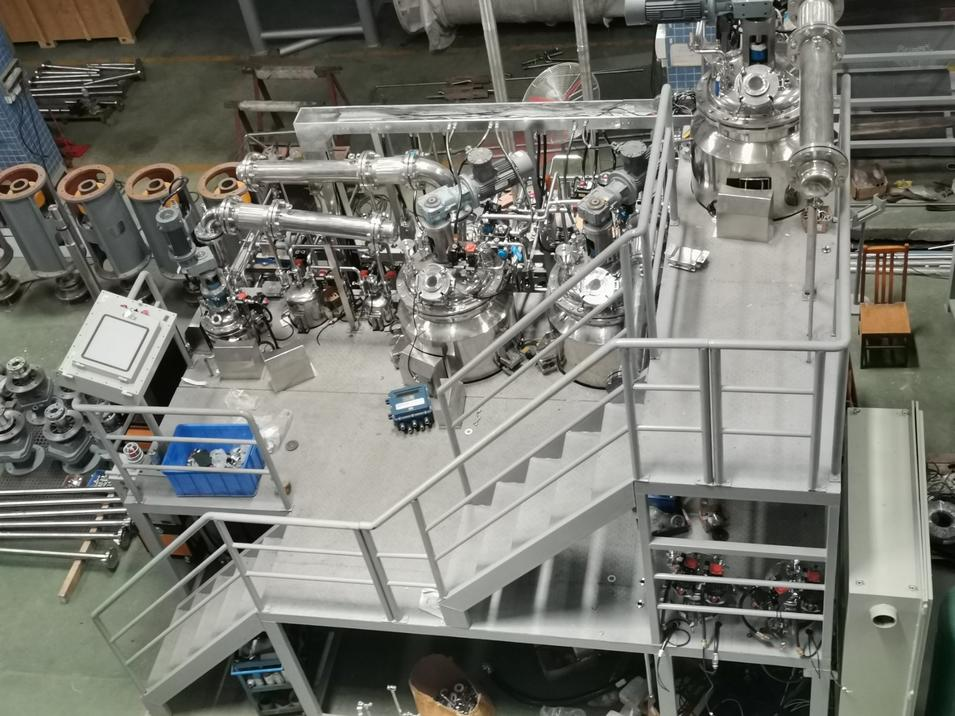Active Pharmaceutical Ingredients API Reaction Tank Reactor Production Line Plant Turnkey Solution