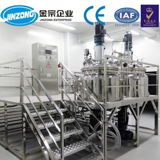 Ointment Gel Manufacturing Plant Mixing Machine