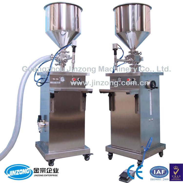Jinzong Machinery Liquid/Cream Semi-Automatic Filling Machine