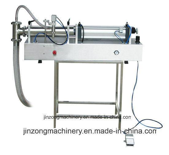 Jinzong Machinery Jgc Series Semi-Automatic Pneumatic Liquid/Cream/Paste Filling Machine