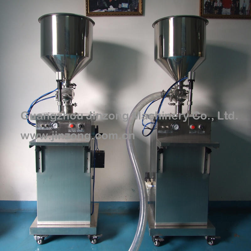Stainless Steel Semi-Automatic Ointment and Liquid Filling Machine