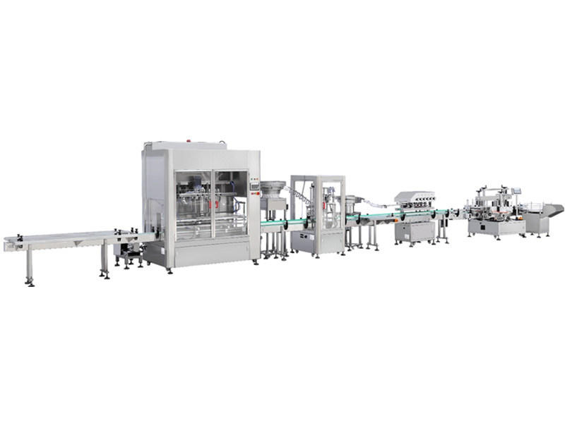 Automatic Cream Paste Filling Machine Disinfectant Hand Sanilizer Production Line