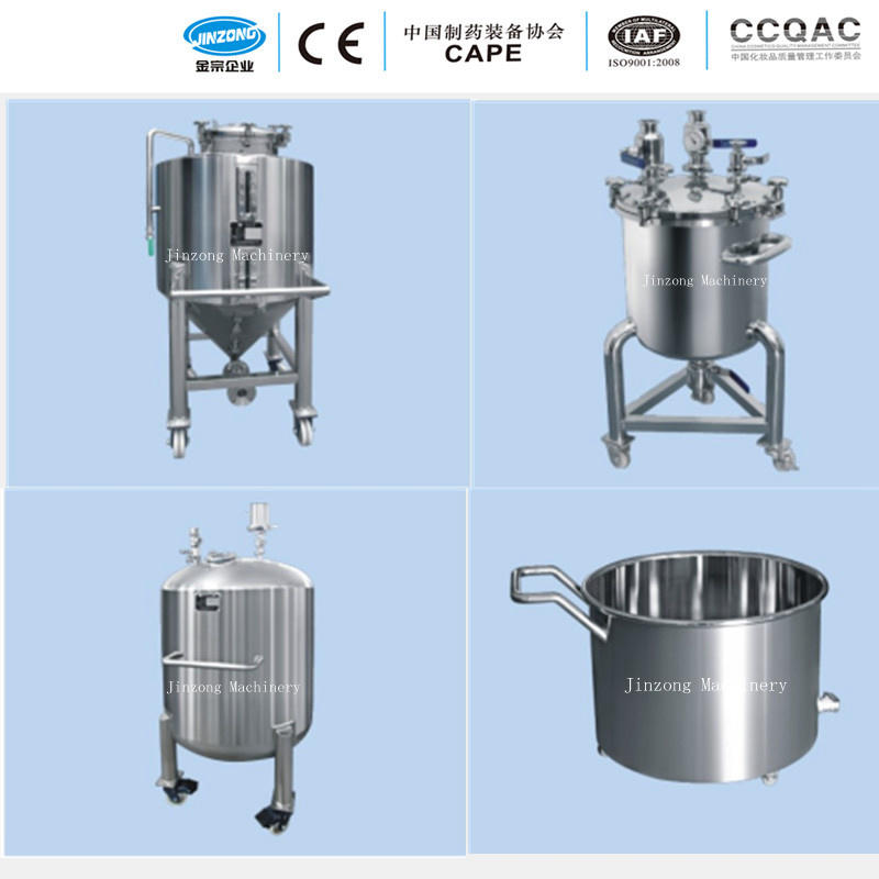 Stainless Steel Strorage Tank for Water, Oil, Seed, Chemical, Food, Beverage