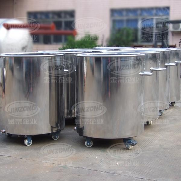 Stainless Steel Mobile Storage, Portable Storage Tank