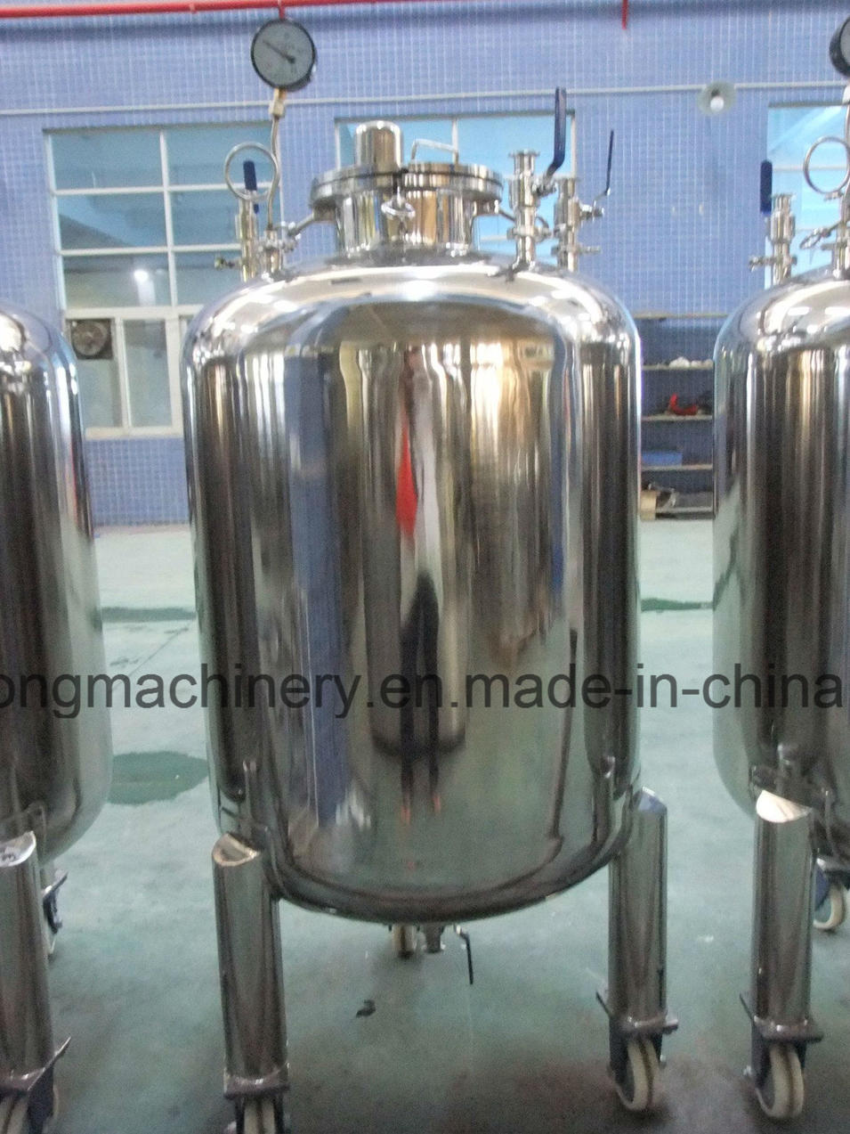 500L Pressure Storage Tank for Chemcial Material