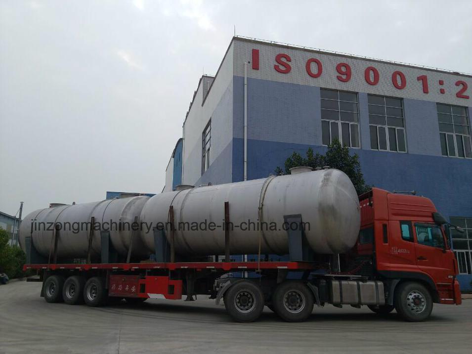 Horizontal Large Capacity Chemical Storage Tank