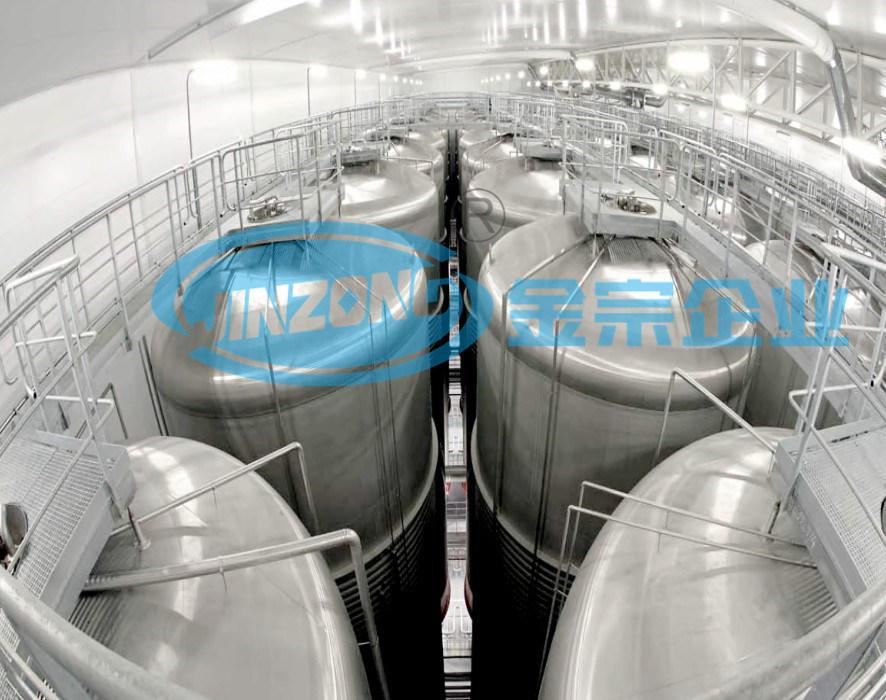 Vertical Type Sterile Storage Tank Mixing Machine Pressure Vessel Manufacturer