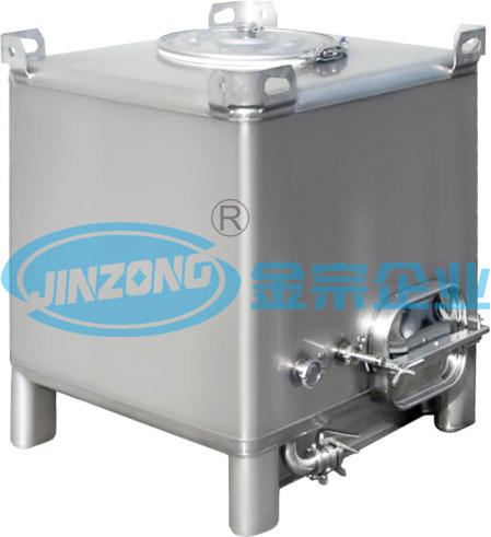 Sanitary Stainless Steel Storage Vessel for Food and Pharmaceutical Industrues
