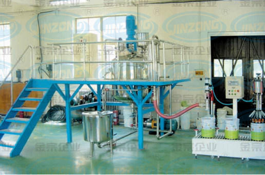 China Paint Manufacturing Plant
