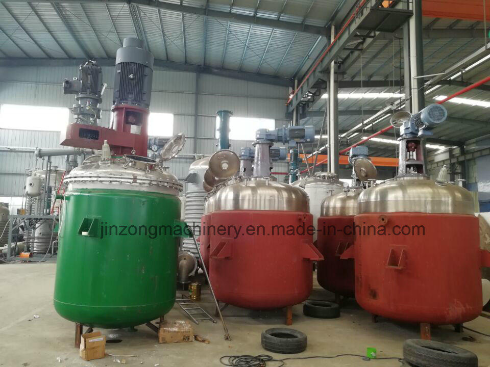 Stainless Steel Mixing Tank with Dispersion Blades