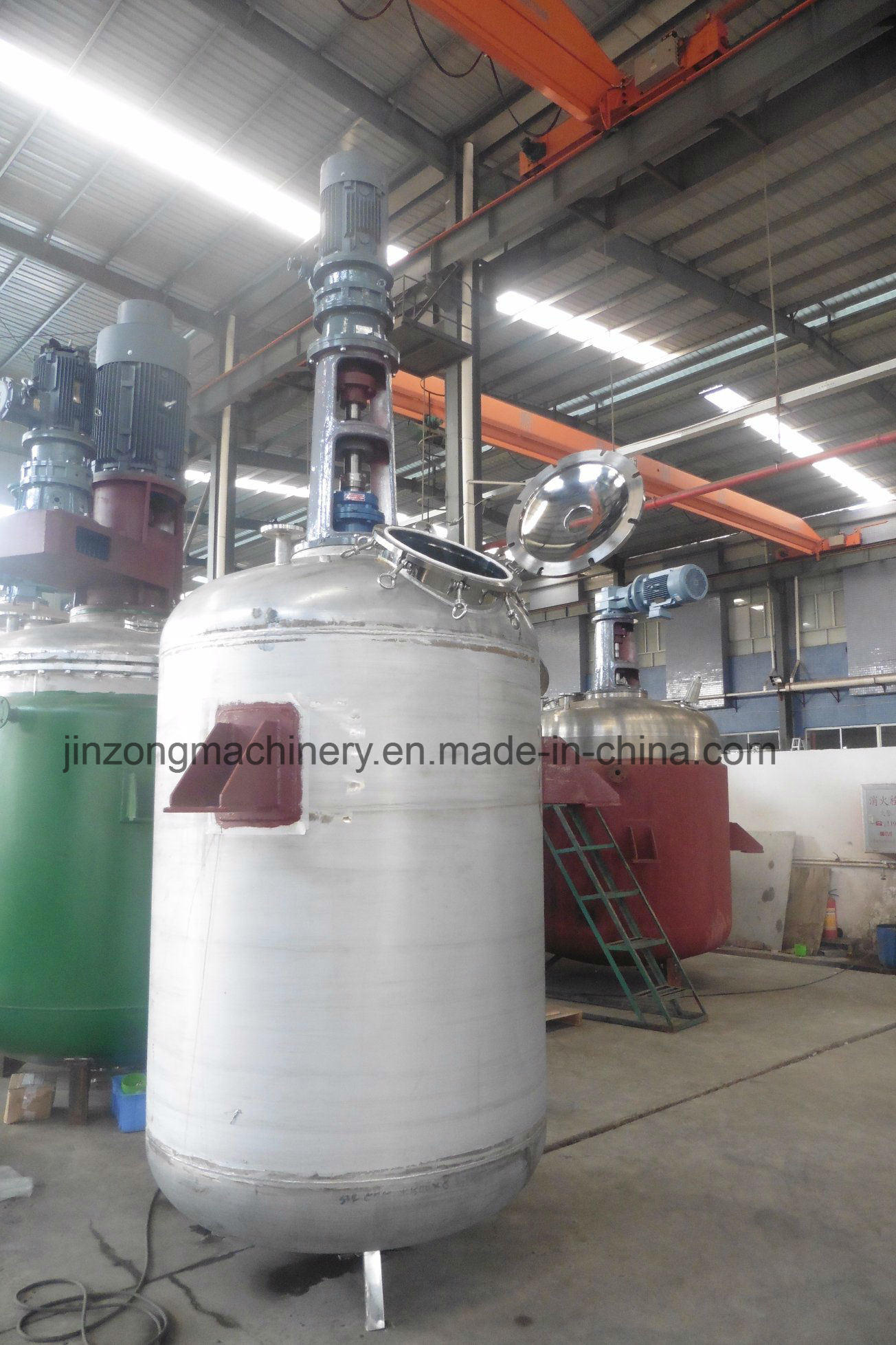 2000L Chemical Reactor with Jacket Heating/Cooling