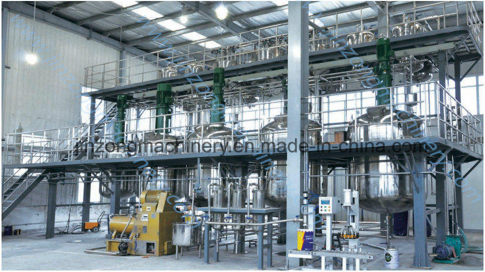 China Quality Complete Water-Based Paint Production Line