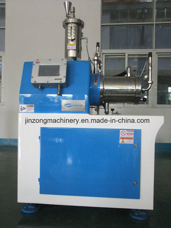 High Effective Horizontal Bead Mill for Pigment / Printing Ink / Coating