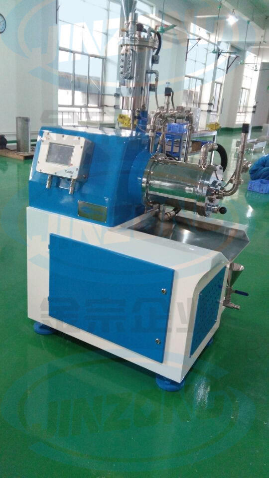 Horizontal Wet Grinding Sand Mill (disc type) for Paint, Coating, Pigment, Ink, Pesticide