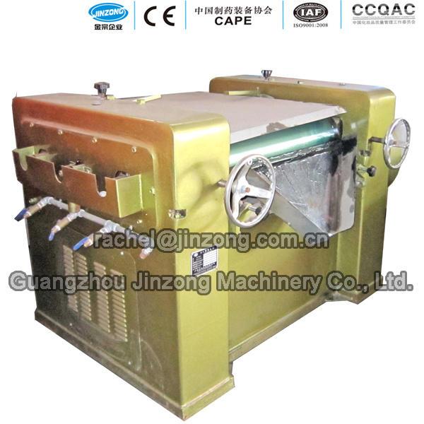 Guangzhou Jinzong Machinery Cosmetic Three Roller Grinding Machine in Stock