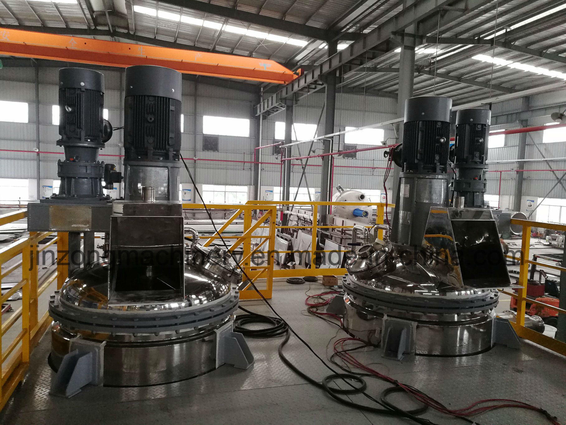 China Platform Type Paint Production Line Mixer Disperser