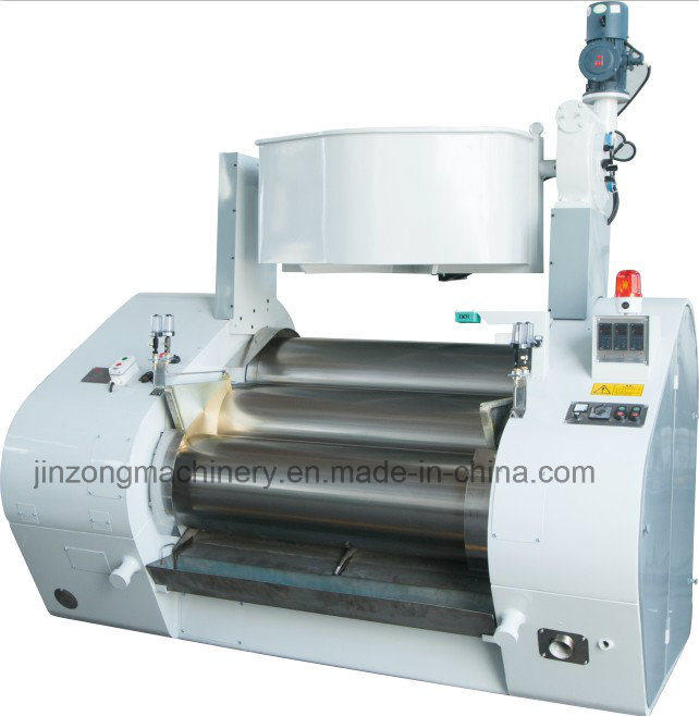 Hydraulic Triple Roller Mill with Water Cooling for Ink, Sliver Paste, Paint