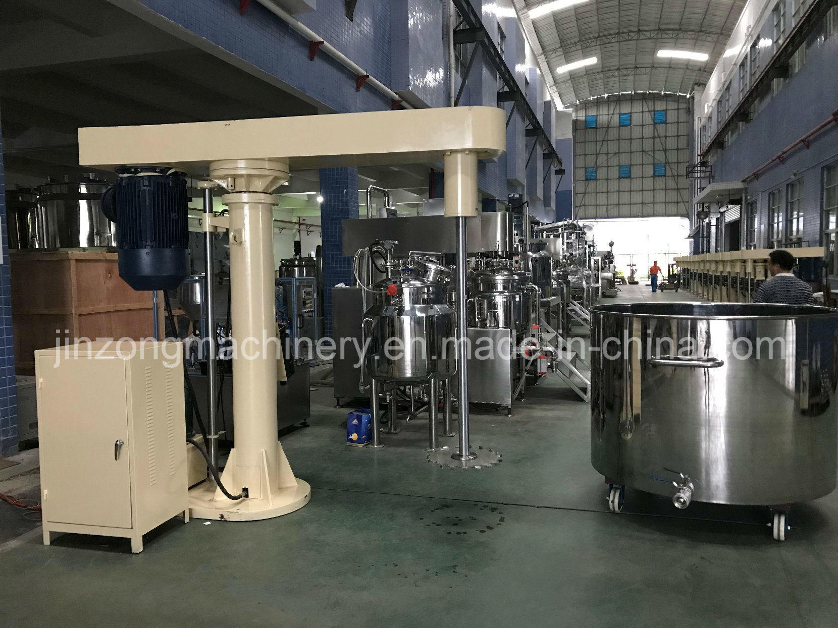 Variable High Speed Paint Mixer Disperser Making Mixing Machine 11kw for Coating Paint Resin Pigment