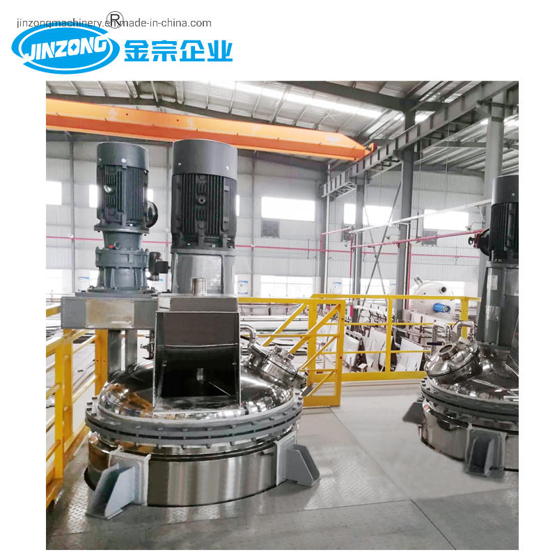 Double Shaft Mixing Kettle, High Speed Paint Mixer