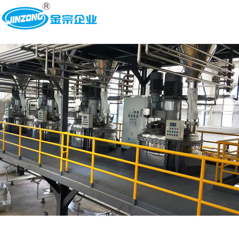 30000 Ton Yearly Output Wall Based Paint Production Plant