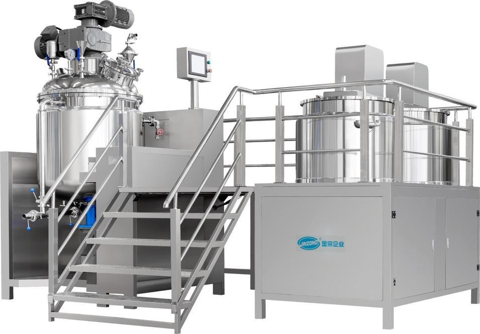 Vacuum Homogenizer Emulsifying Mixing Machine for Pharmaceutical Production Process