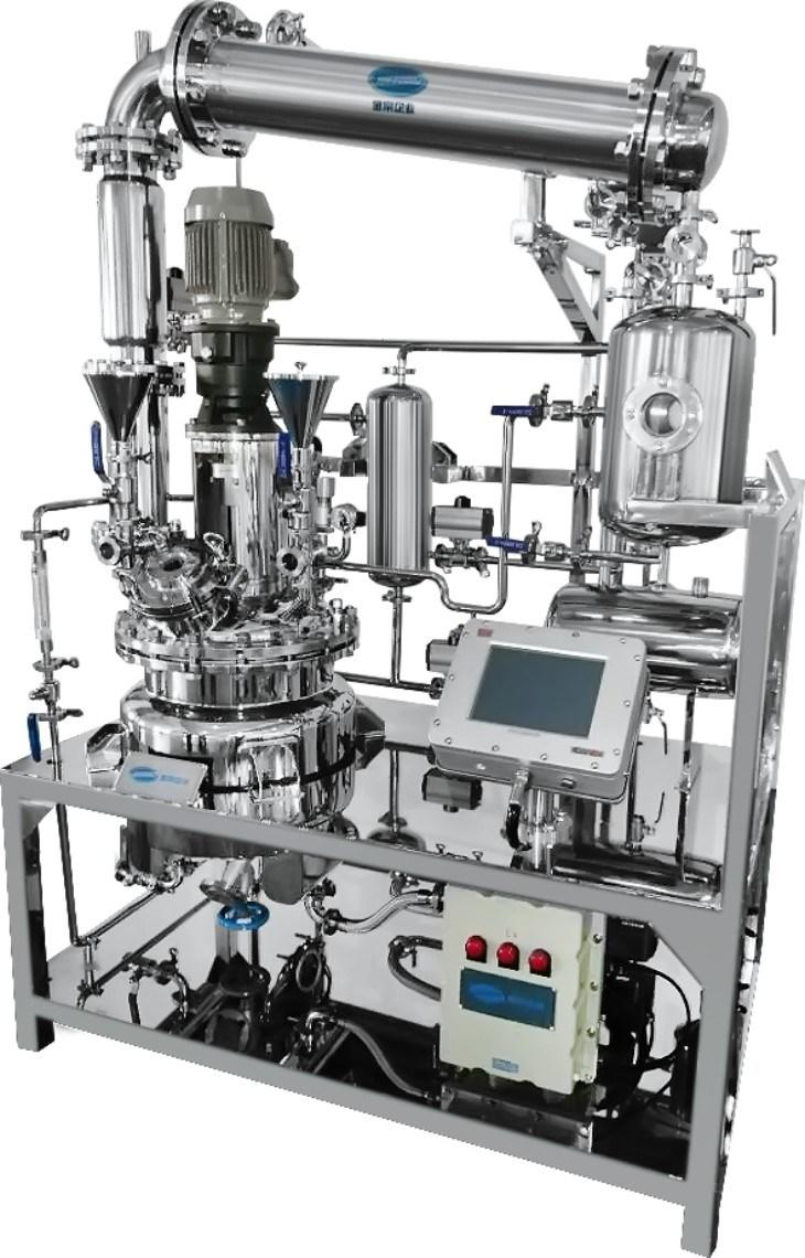 Stainless Steel Reaction Mixing Tank, Reaction Vessel, Reactor API Manufacturing Machine