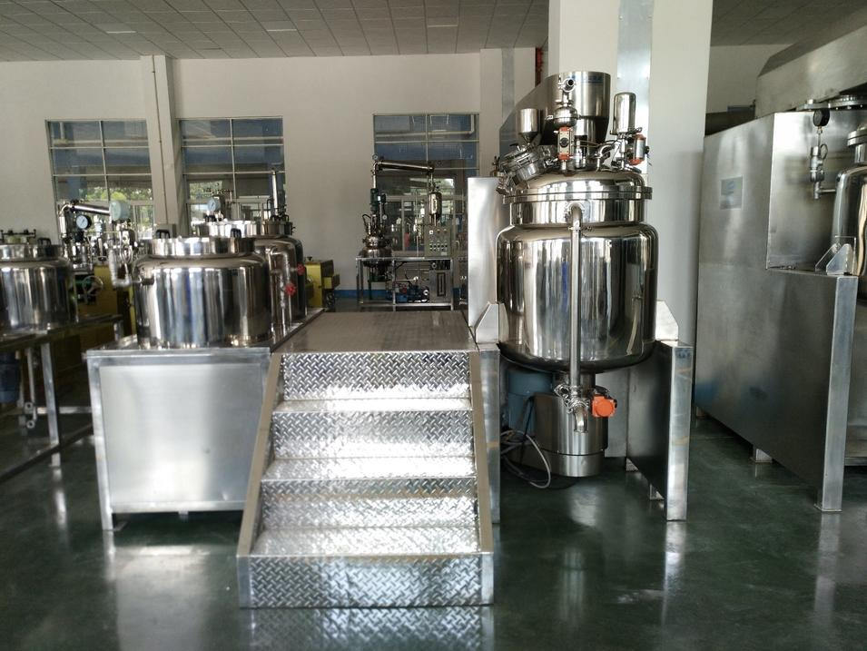 Pharmaceutical Syrup Manufacturing Plant Industrial Scale Mixing Vessels