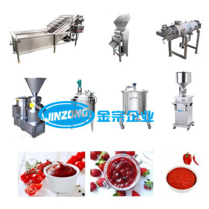 Small Scale Tomato Sauce Making Machine Whole Production Line Supplier