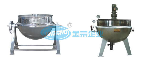 Jacketed Food Cooking Saucepan Boiling Pot China Kitchen Equipment Supplier