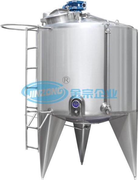 Heating and Cooling Jacket Food Mixing Tank Mixer Fabricator China