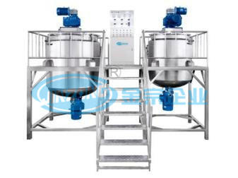 Stainless Steel Electric or Steam Heating Jacketed Mixing Tank Reactor