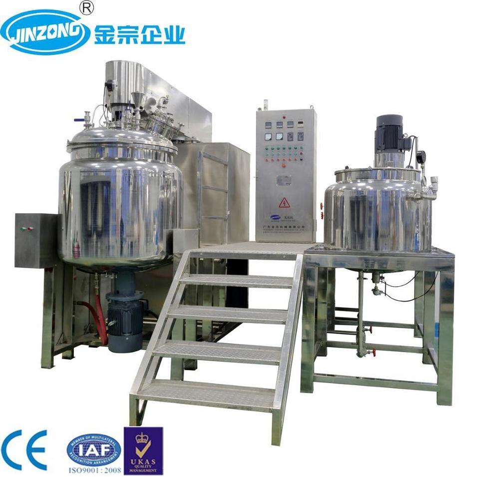 Cream Ointment Homogenizer Emulsifying Mixer for Pharma Processing