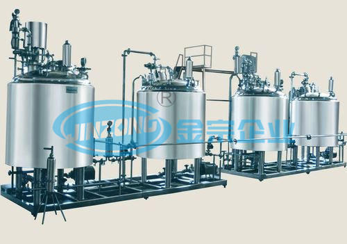 Pharmaceutical Injection Plants Stainless Steel Manufacturing and Holding Tank