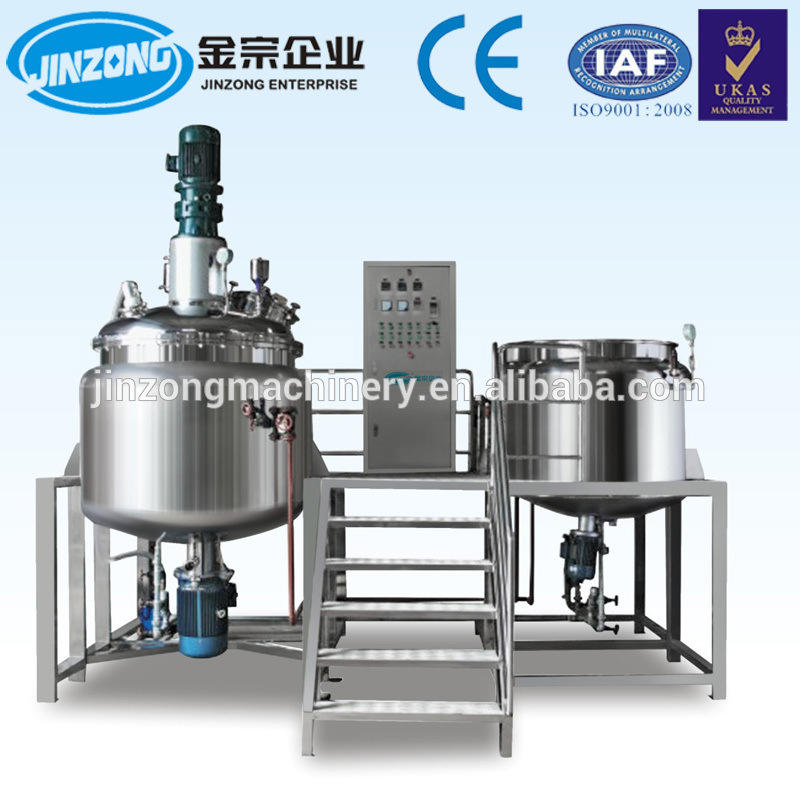 Automatic Oral Liquid Syrup Manufacturing Plants Cream Mixing Machine