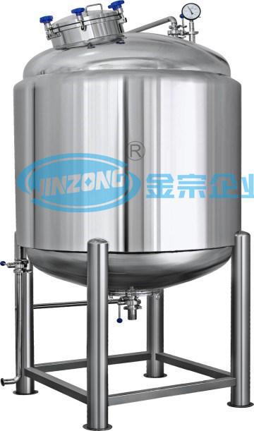 Stainless Steel Food Grade Aseptic Storage Tank Sterilization Tank