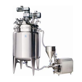 Mixing Tank with Inline Homogenizer Mayonnaise Manufacturing Machine