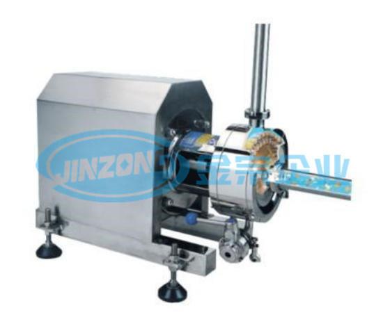 1-3 Stage Inline Homogenizer Pump Pharmacy Emulsifier Mixer